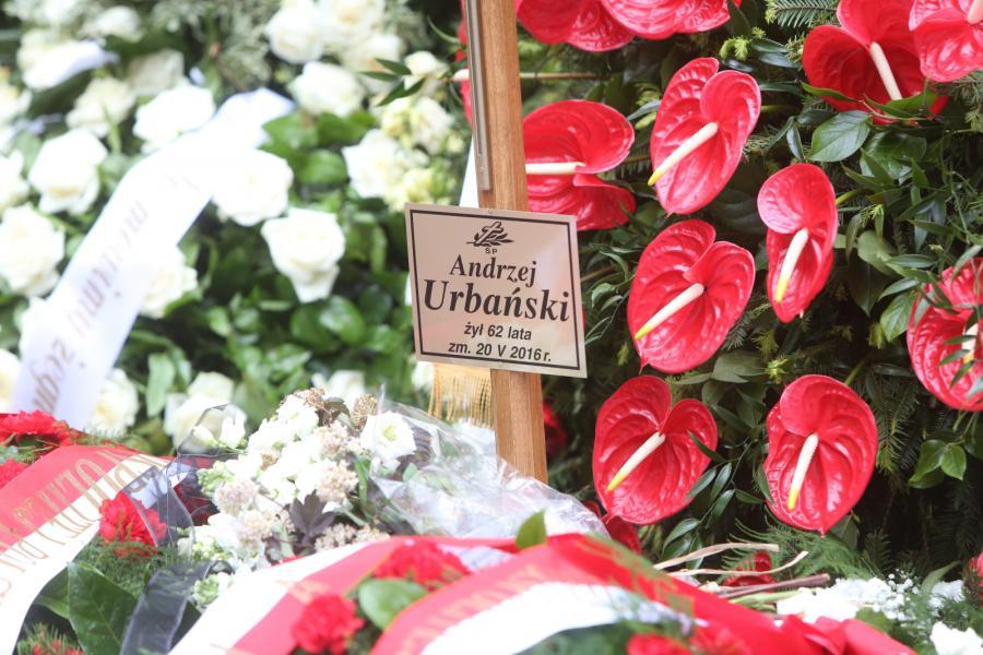 Pogrzeb Andrzeja Urbańskiego