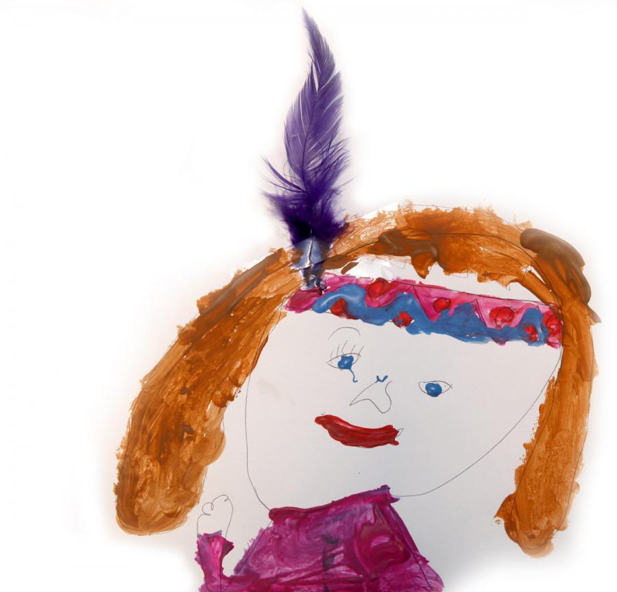 Autor rysunku: Amelia Bąk, lat 7