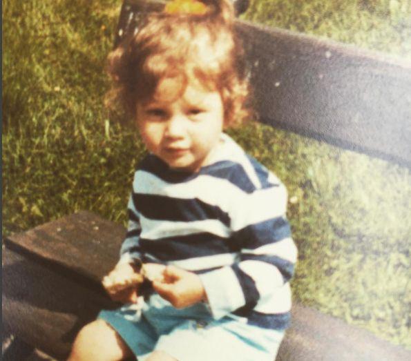 Weronika Rosati w dzieciństwie