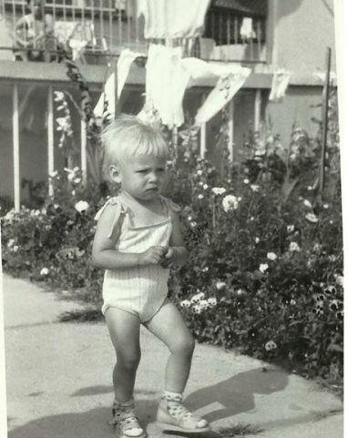 Maja Sablewska w dzieciństwie