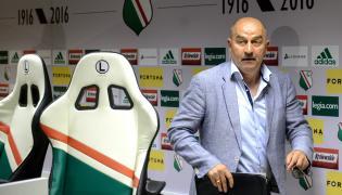 Były trener Legii Warszawa Stanisław Czerczesow, podczas pożegnalnej konferencji prasowej