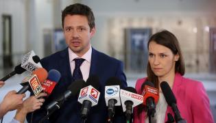 Rafał Trzaskowski i Agnieszka Pomaska