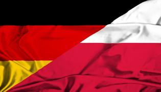 Flagi Niemiec i Polski