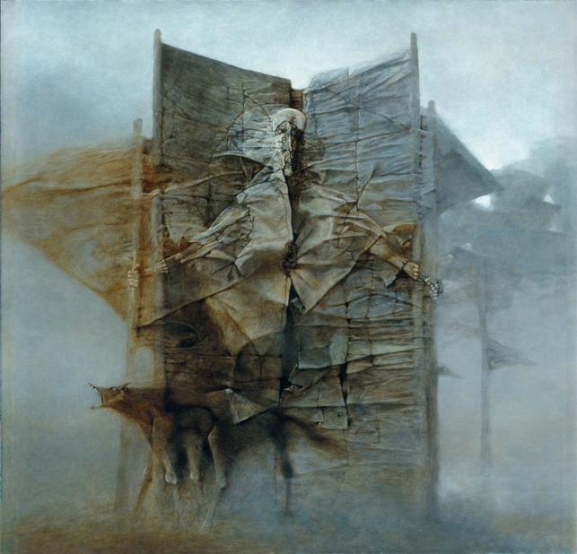 FZ, 1987, olej, 88 x 92 cm