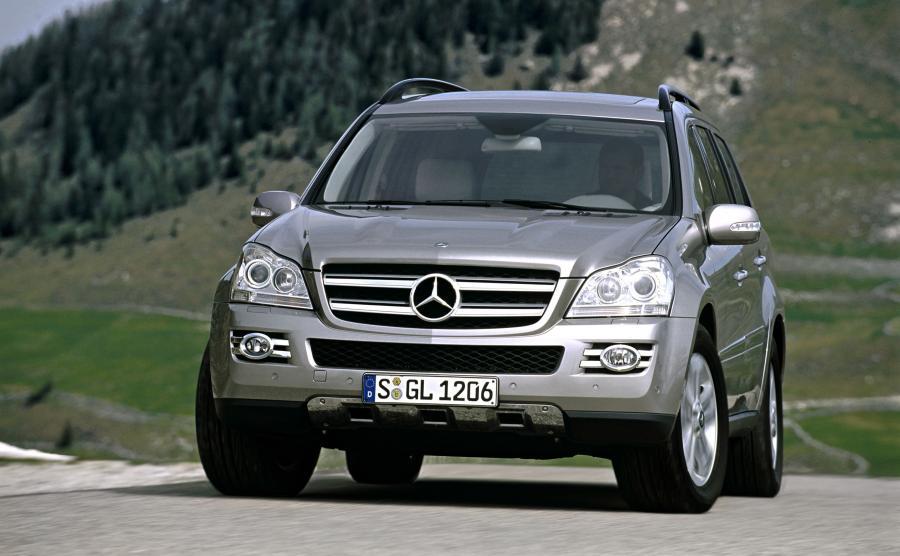 Mercedes-Benz GL produkowany od 2006 roku