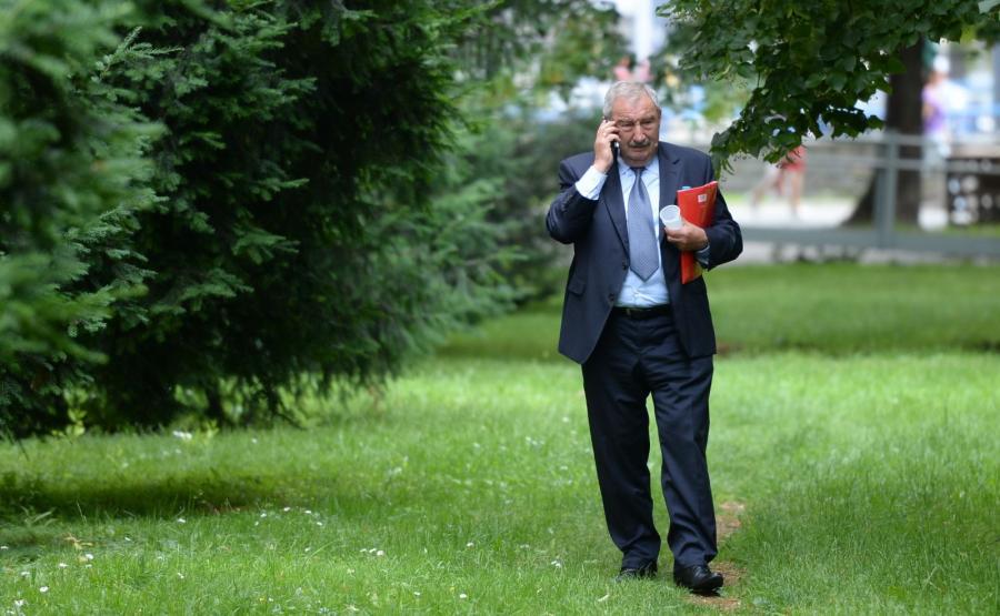 Andrzej Melak po spotkaniu w Prokuraturze Krajowej w Warszawie