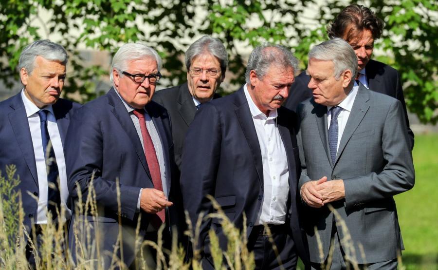 Spotkanie przesdstawicieli 6 państw-założycieli UE