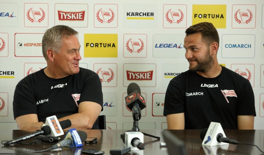 Jacek Zieliński i Mateusz Cetnarski