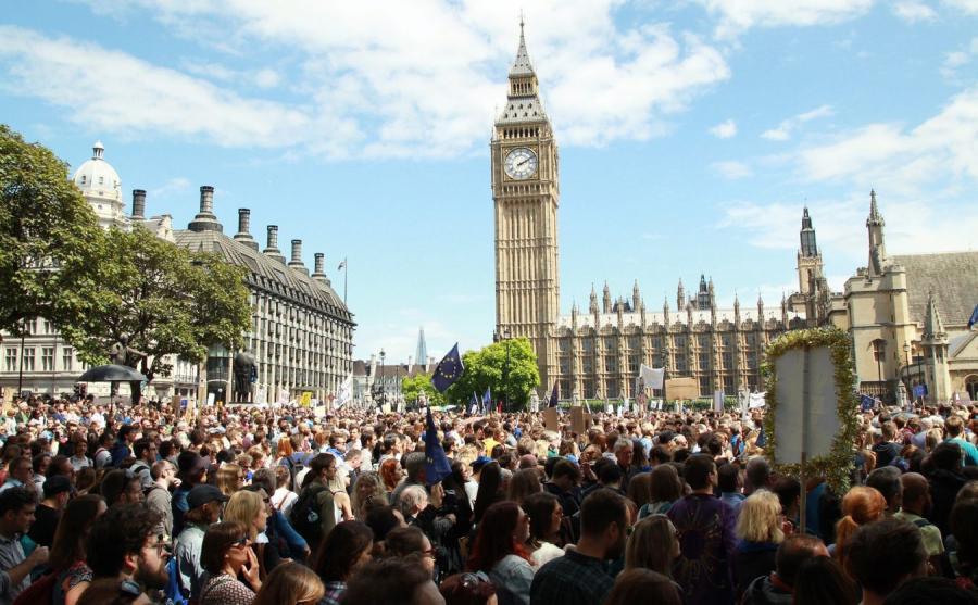Demonstracja przeciw Brexitowi