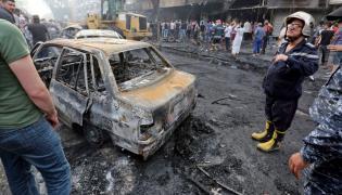 Zamach bombowy w Bagdadzie