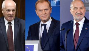 Stefan Niesiołowski, Donald Tusk i Antoni Macierewicz