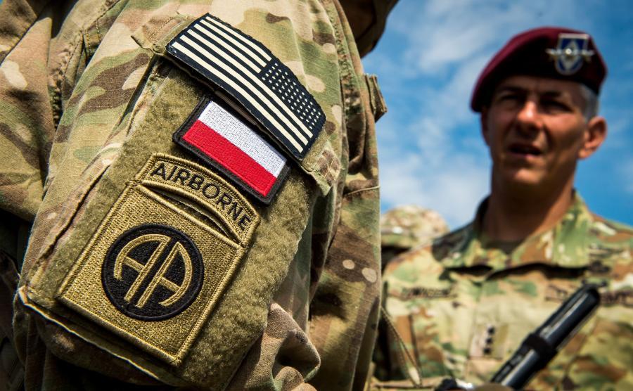 Operacja wojsk powietrznodesantowych państw NATO w Toruniu, w ramach ćwiczeń Anakonda-16