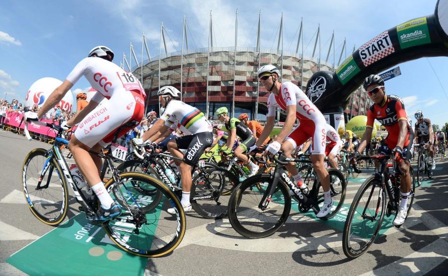 Tour de Pologne w Warszawie