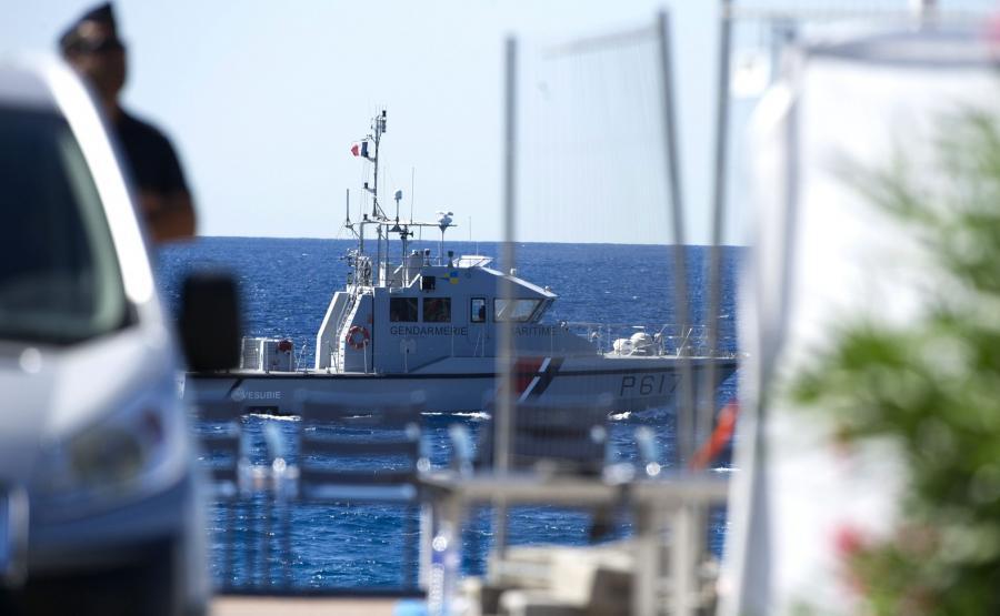 Francuscy polijanci patrolują Niceę