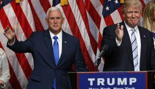 Mike Pence i Donald Trump