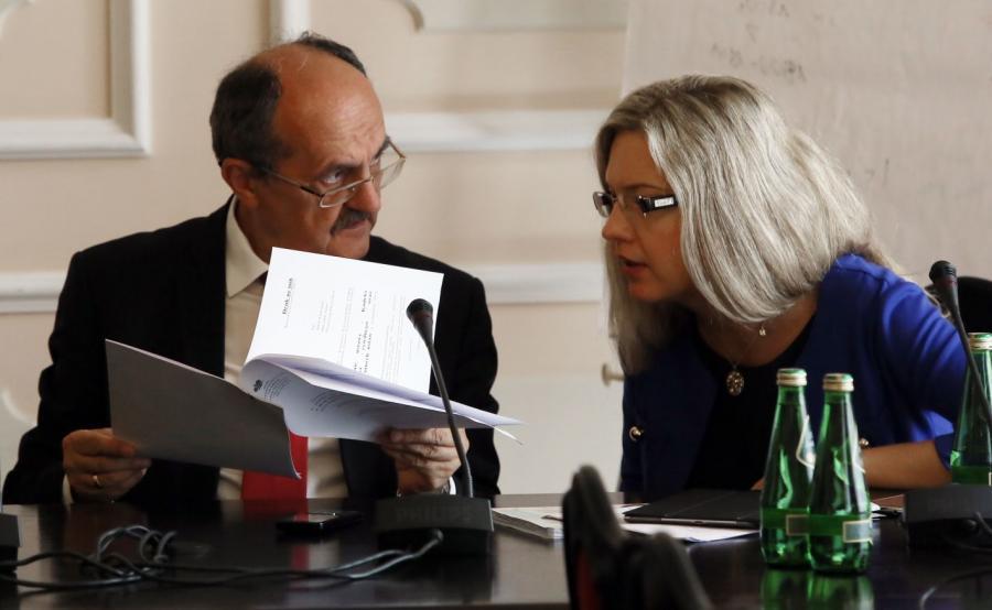 Andrzej Matusiewicz i Małgorzata Wassermann