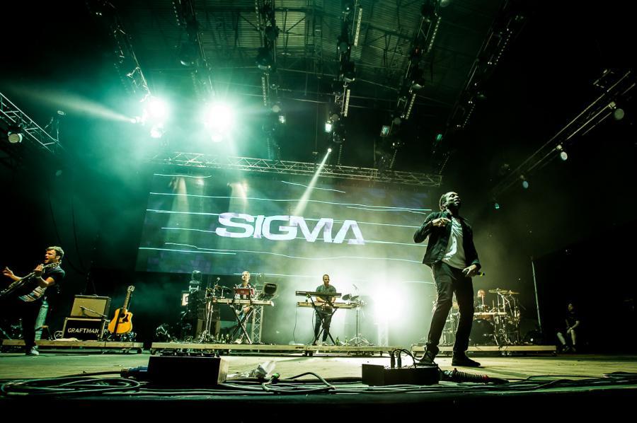 Sigma na festiwalu Audioriver 2016 / fot. Audioriver