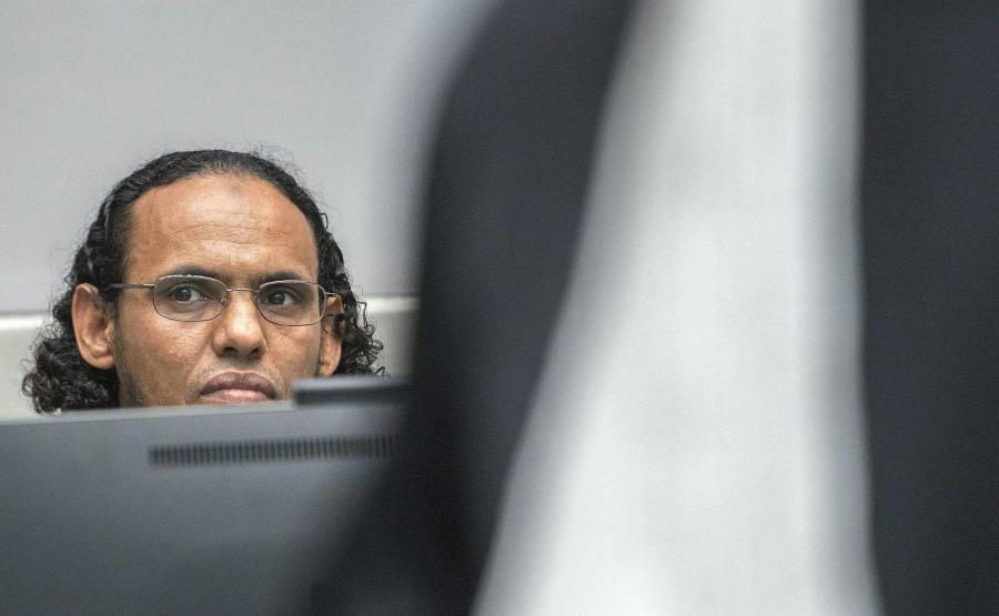Ahmad Al Faqi Al Mahdi przed trybunałem w Hadze