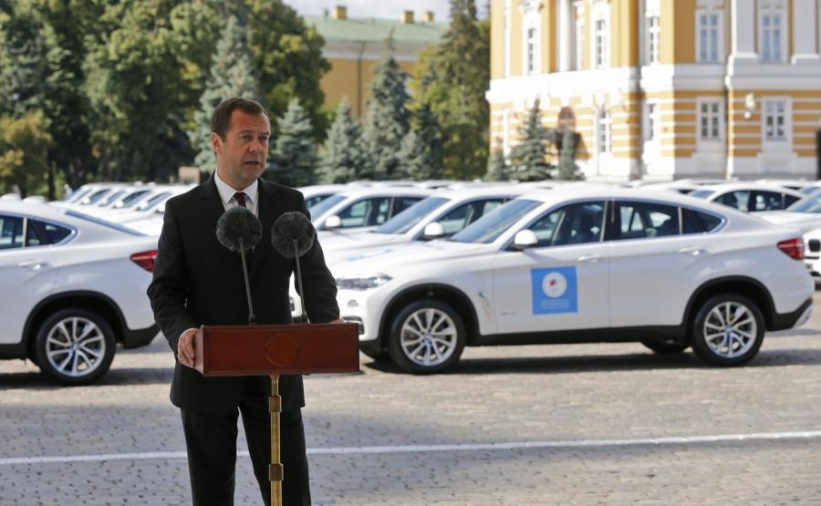 Premier Dmitrij Miedwiediew