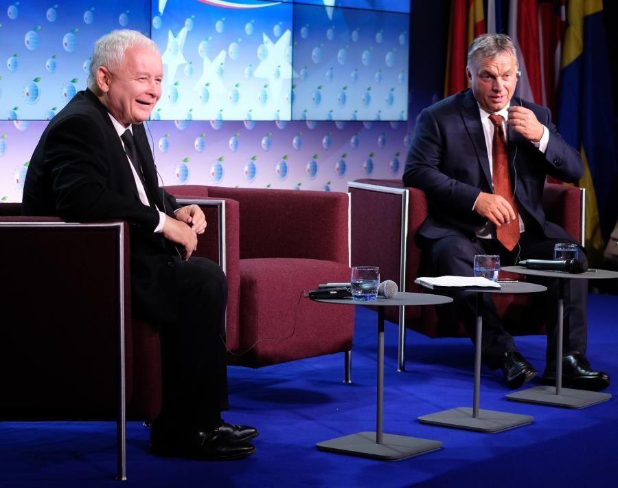 Jarosław Kaczyński i Viktor Orban w Krynicy