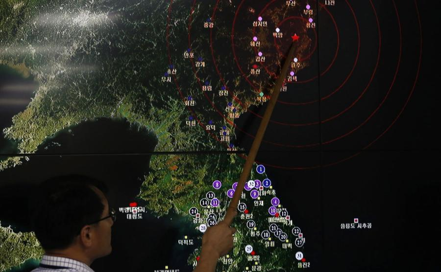 Próba nuklearna wywołała trzęsienie ziemi