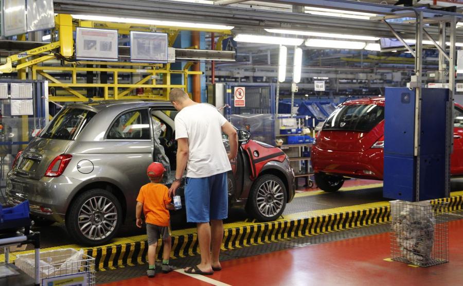 Po inwestycjach za 180 mln euro tyska fabryka FCA liczy na wzrost produkcji w 2017