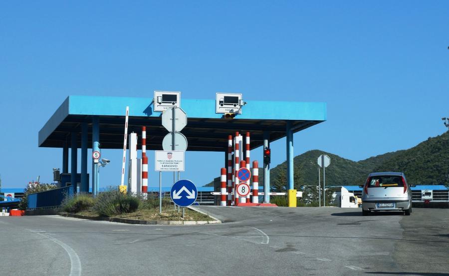Granica Chorwacji z Czarnogórą