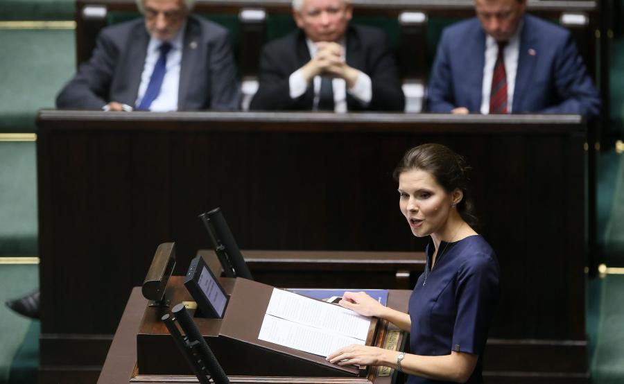 Przedstawicielka inicjatywy ustawodawczej \