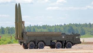 Mobilna wyrzutnia rakiet Iskander