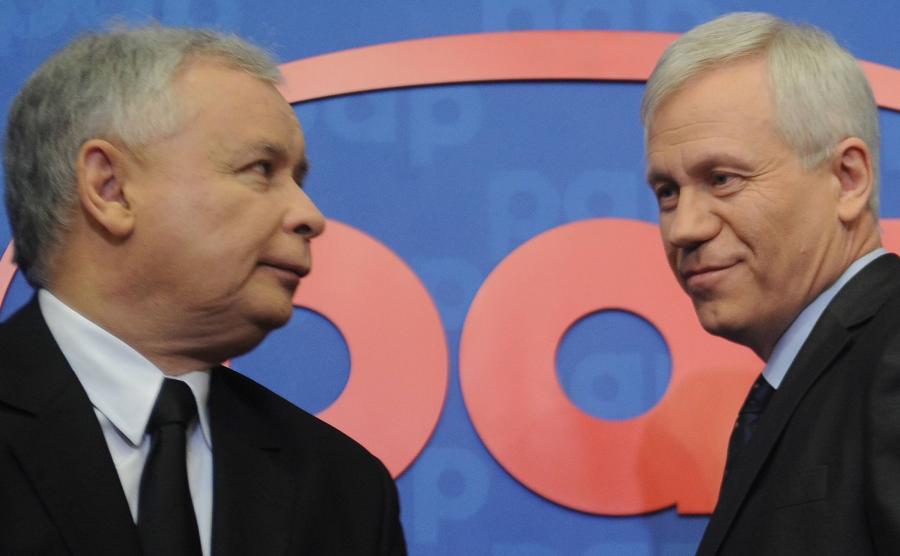 Marek Jurek i Jarosław Kaczyński