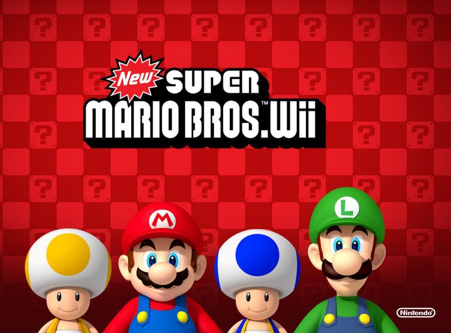 New Super Mario Bros. Wii - nie dla dzieci