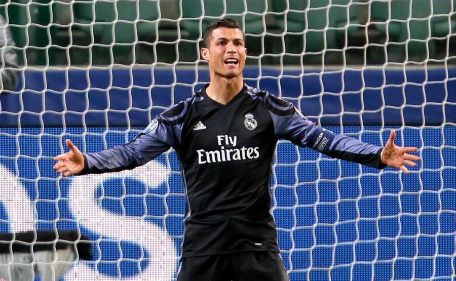Cristiano Ronaldo zakochał się w żonie piłkarza Legii Warszawa