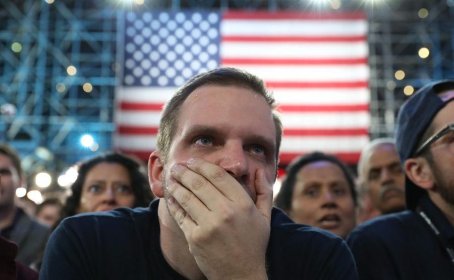 Wybory w USA. Hillary Clinton przegrywa, Donald Trump triumfuje