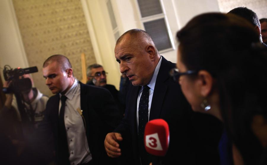 Premier Bojko Borysow