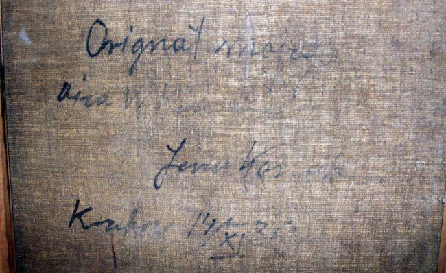 Obraz figurował jako skradziony w wykazie Narodowego Instytutu Muzealnictwa i Ochrony Zabytków