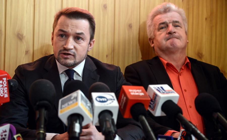 Piotr Guział, Piotr Ikonowicz