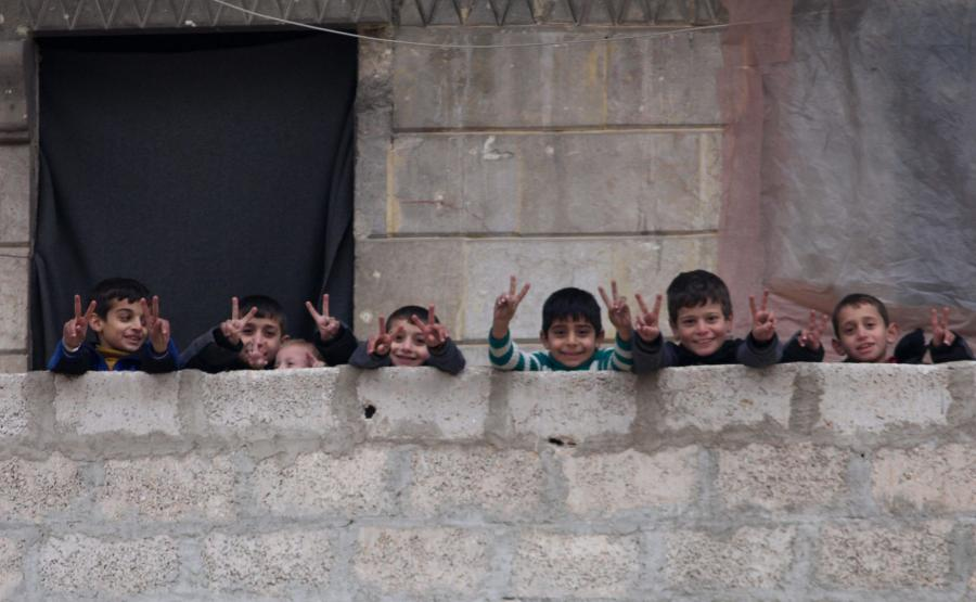 Dzieci z Aleppo