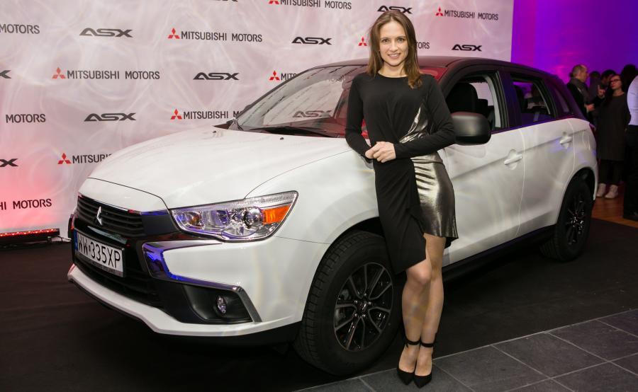Anna Cieślak i Mitsubishi ASX Cool Edition