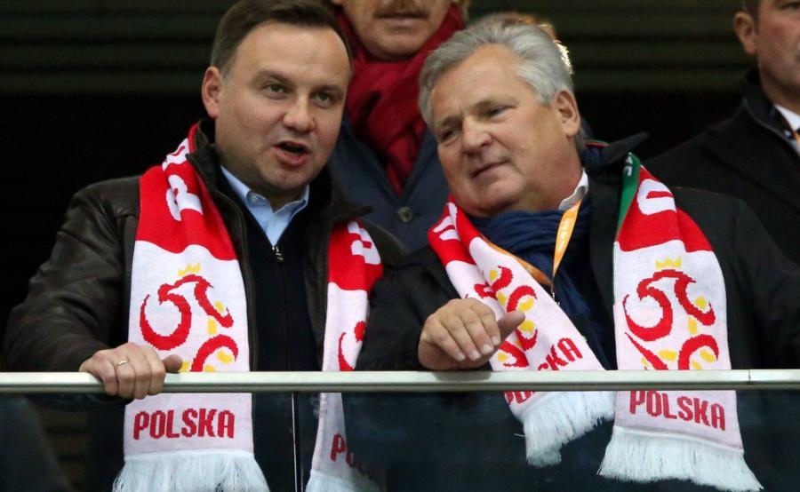 Andrzej Duda i Aleksander Kwaśniewski