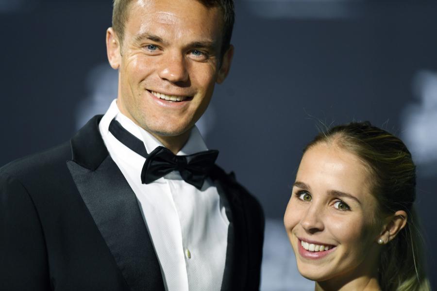 Manuel Neuer i jego dziewczyna, Nina Weiss