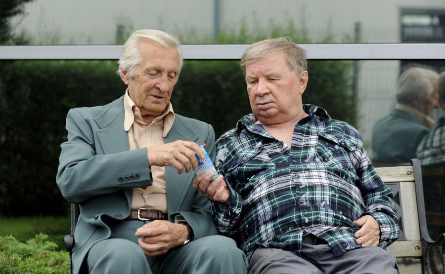 Andrzej Kopiczyński i Roman Kłosowski, bohaterowie serialu \
