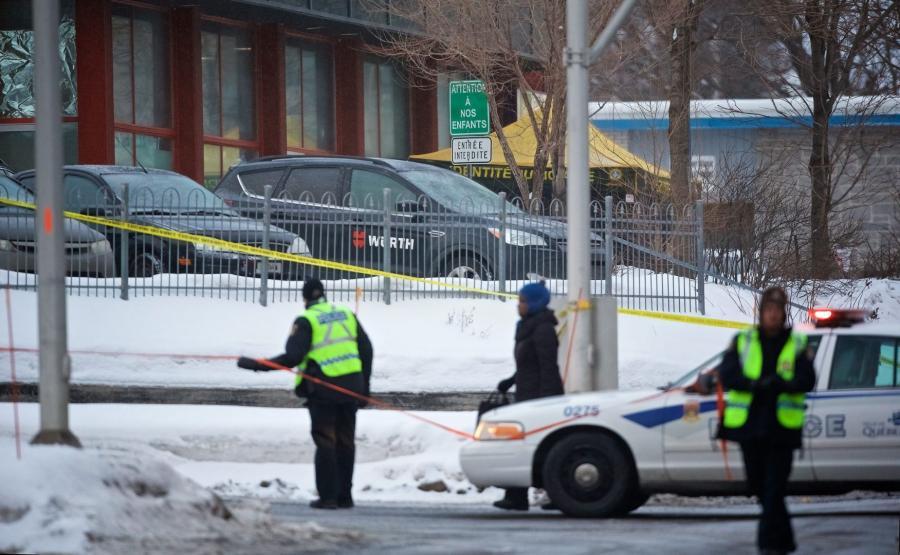 Strzelanina w meczecie