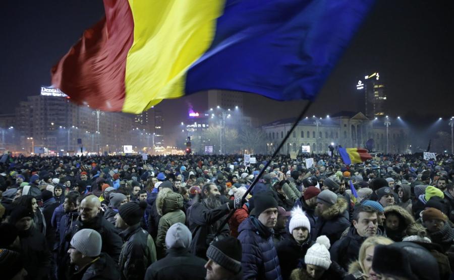 Protesty w Bukareszcie