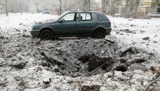 Lej po bombie w Doniecku