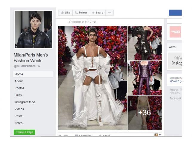 Pokaz kolekcji Palomo Spain jesień/zima 2017/2018 na New York Fashion Week