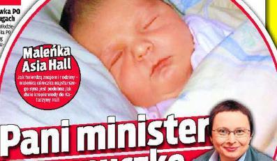 Pani minister ma wnuczkę