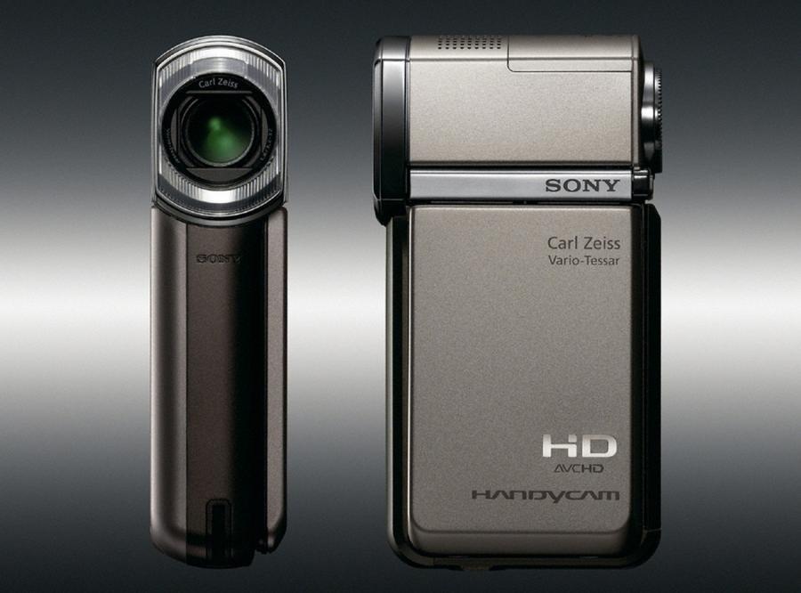 Jeszcze mniejsza kamera HD Sony