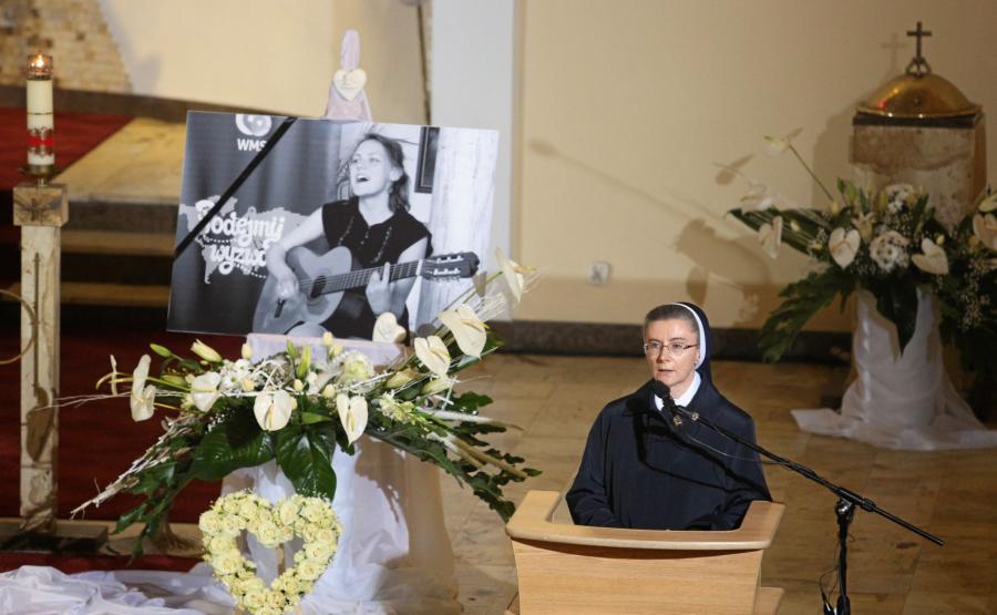 Pogrzeb wolontariuszki