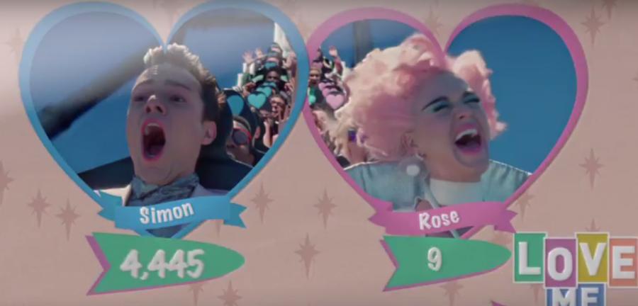 Katy Perry w teledysku \