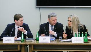 Jarosław Krajewski, Marek Suski, Małgorzata Wassermann